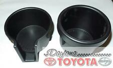 OEM TOYOTA TUNDRA CUP HOLDERS, BOTH SIDES 58856-0C010 FITS 2000-2006 BLACK