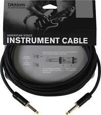 DADDARIO Planet Waves 20ft Instrument Cable American Stage Guitar Lead PWAMSG-20
