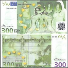 Europe 300 Euro Sex Banknote, UNC