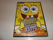 PC  SpongeBob Squarepants - Operation Krabby Patty