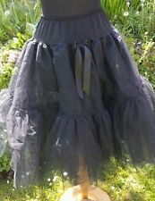 Lovely tulle nero Sex and the City Sottoveste/Gonna