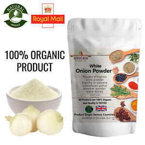 WHITE ONION POWDER Best Quality Natural Organic 100g 250g 500g FREE UK DELIVERY