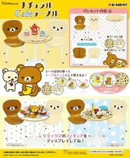 Re-Ment Miniature Sanrio Rilakkuma Cafe Table and Chair Full Set