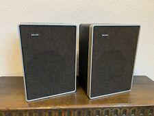 Rare Vintage Philips type 22rh442/11R Speaker | Nice Look | Made in Holland