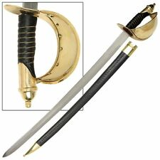 1860 Naval Military Civil War U.S Cutlass Reproduction Sabre Sword
