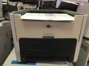HP Laserjet 1320N Printer (Network & USB) with power cord and USB printer cable