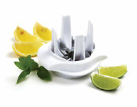 Norpro Lemon Lime Slicer Wedger Cutter Fruit Garnish For Food Drinks Tea New 530