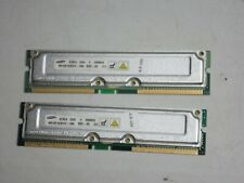 Samsung 512MB (256MB x2) MR16R1628DF0-CM8 PC-800 RDRAM RIMM Non-ECC RAM Memory