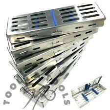 6 pezzi Set sterilizzazione Cassetta con divisori VASSOIO HOLD 5