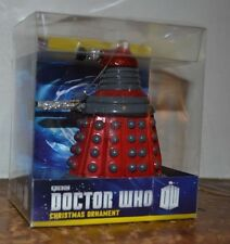 Doctor Who RED DALEK wit Glitter Christmas Tree Ornament Kurt S Alder