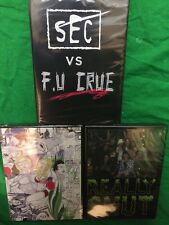 *3 Skate Videos* FU Crue VS SEC, Dee Ostrander Baker Skateboards Heroin New DVDs
