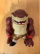 Vintage 1994 Street Sharks Big Slammu Action Figure Toy 90s Collectable Toys