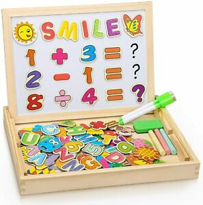 Magnetic Educational Toys Game For Girls Boys Toddler Kids 3 4 5 Years Old Board