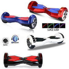 HOVERBOARD LUCI LED SPEAKER E BLUETOOTH SCOOTER OVERBOARD 8 AUTOBILANCIATO