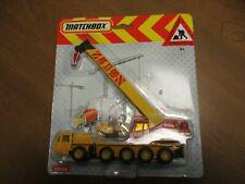 Matchbox Construction Convoy CY-30 Grove Crane CS-60 blistercard