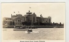 BRITISH COLONIAL HOTEL, NASSAU: Bahamas postcard (C3933).