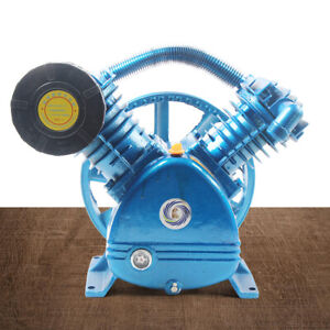 21CFM 5.5PS Druckluft Kompressor Aggregat 2 Zylinder 4 kW 175psi 2stage