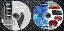 46.000 Patches Line6 POD POCKET-2.0-FLOOR PLUS-POD PRO & 48.328 Guitar Tab