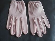 """""""Chester Jefferies"""" Designer Baby Pink Nappa Leather Gloves Brand New in Pack!!!"""