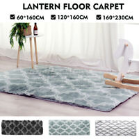 Home Anti-Skid Area Rug Large Lantern Floor Mat Carpet Bedroom Living Room Decor