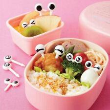 10x/Lot Plastic Fruit Toothpick Lovely Eye Cartoon Forks Decorative Tableware  M