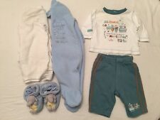 Pumpkin Patch| Winter all in oneBaby Boy 0-3 Months Clothes Bundle <N938