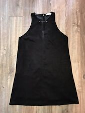 Refernce Black Suede Dress Small,sexy, Go Go Dancer