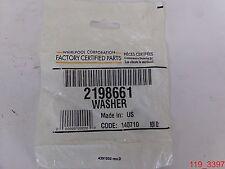 Genuine 2198661 Whirlpool Refrigerator Washer