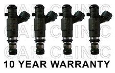 Set Of 4 Jecs Fuel Injectors For Subaru Outback Legacy Baja 2.5L H4 F