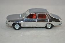 Pilen #503 Renault 12-S 12S in Chrome 1:43 in mint condition - RARE COLOUR