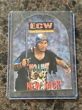 NEW JACK Rare ECW OSFTM Sticker Trading Card WWE