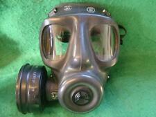 1983 British Army S6 Respirator + Filter. Size N (Normal / Regular) L.B.R Co