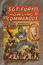 SGT FURY and his HOWLING COMMANDOS #13 - Captain America - Higher Grade - CGC it