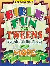 Bible Fun for Tweens: Mysteries, Riddles, Puzzles, and More (Paperback or Softba