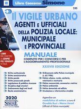 330 VIGILE URBANO AGENTI UFFICIALI POLIZ. - [Gruppo Editoriale Simone]