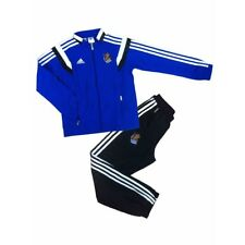 Real Sociedad Soccer Tracksuit Football Adidas Spain Presentation Suit ALL SIZES