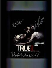 True Blood Complete Second Season DVD set signed by Trammell Wesley Woll