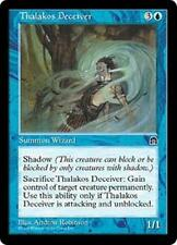 THALAKOS DECEIVER Stronghold MTG Blue Creature — Thalakos Wizard RARE