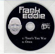 (DV622) Frank Eddie, That's The Way / Open - DJ CD