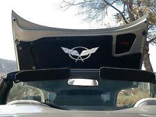 Corvette C5 Hood Panel Badge Crossed Flags - 1997-2004