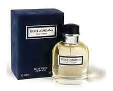 DOLCE & GABBANA POUR HOMME 75ML 2.5 OZ EAU DE TOILETTE NATURAL SPRAY