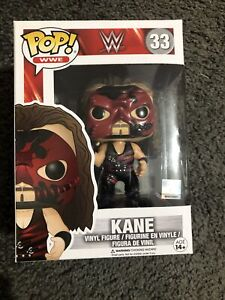 Pop Funko WWE Kane 33 Rare