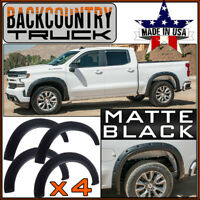 BackCountryTruck Bolt-On Style Fender Flares fit 2019-2020 Silverado 1500 MATTE