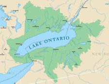 GARMIN LAKE ONTARIO DATA CARD MARINE CHART US & CANADIAN WATERS  MUS019R