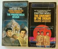 2 TIMESCAPE STAR TREK NOVELS/The Covenant of the Crown & The Prometheus Design