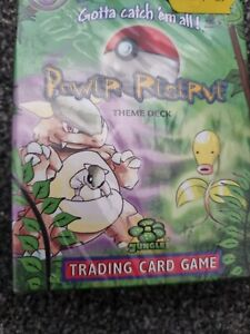 Pokemon Power Plant Theme Deck Jungle new and sealed