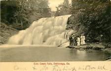 Georgia, GA, Dahlonega, Cain Creek Falls UDB 1907 Postcard