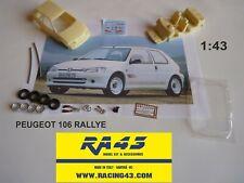 1/43 kit PEUGEOT 106 RALLYE VERSIONE STRADALE