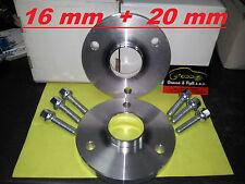 kit 4 Distanziali Ruota MCC SMART MC01 ROADSTER FORTWO 451 452 16mm + 20mm