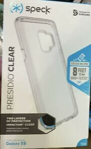 Speck Presidio Clear Series Case for Samsung Galaxy S9  Clear